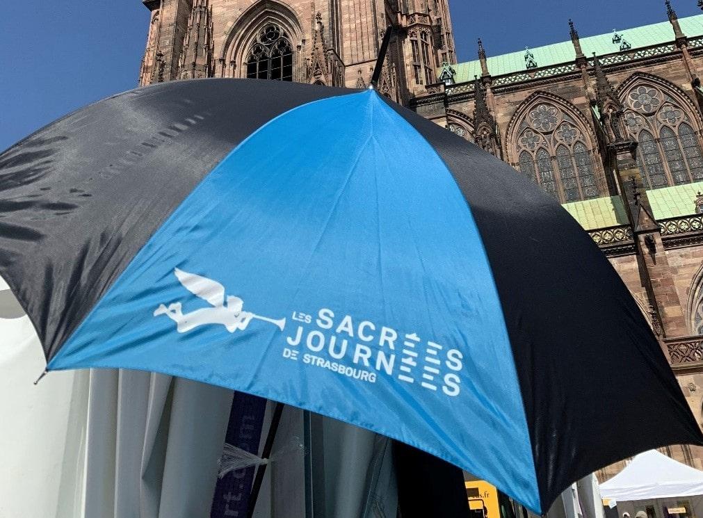 Les parapluies des Sacrées Journées