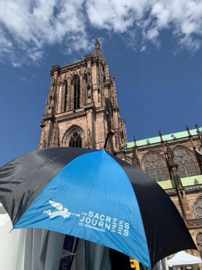 Parapluie des Sacrées Journées